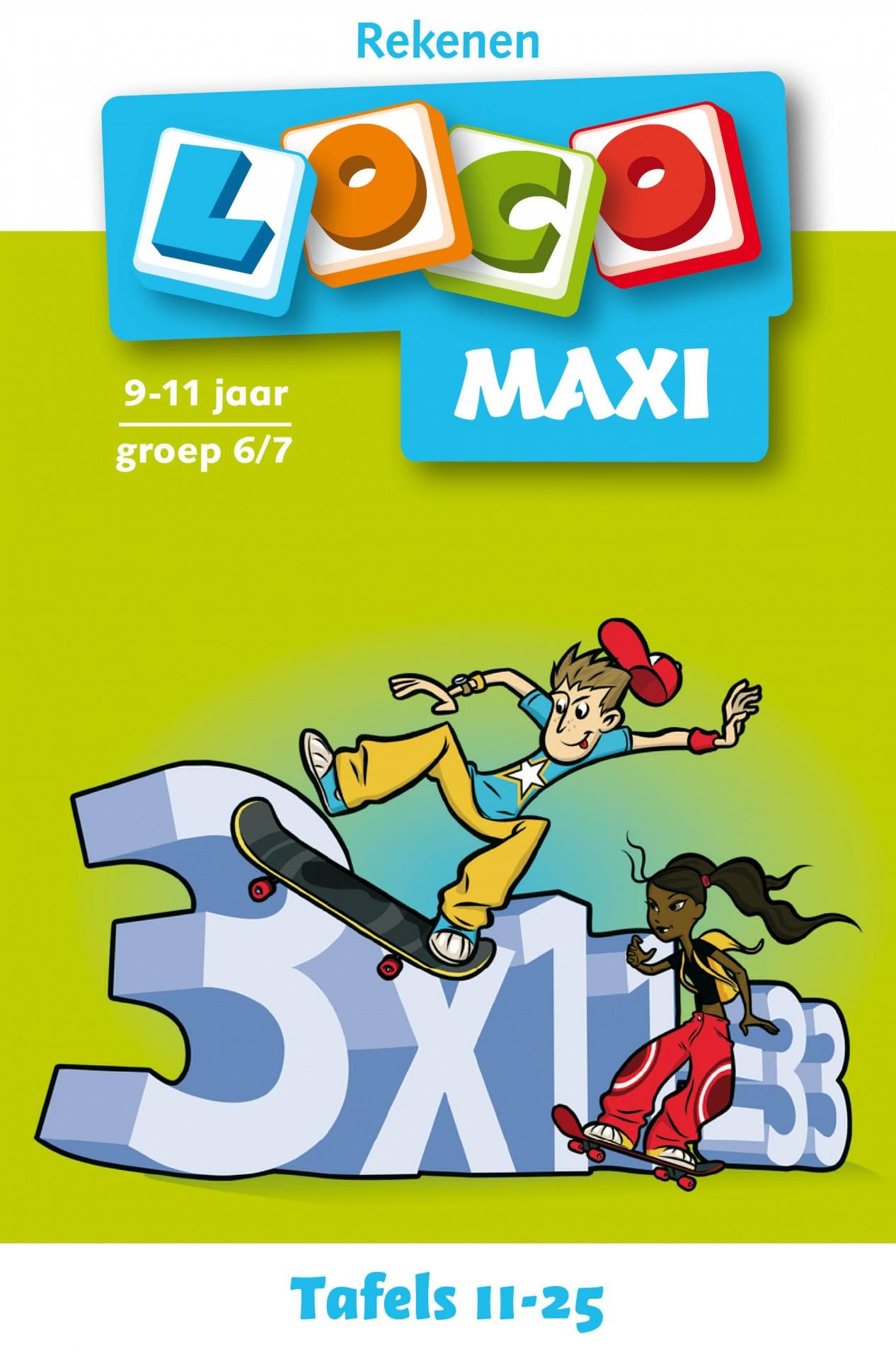 Maxi loco tafels 11 25
