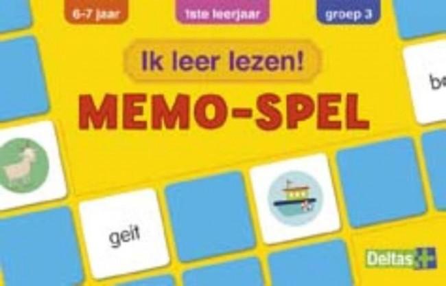 Ik leer lezen! memo-spel (6-7 j )